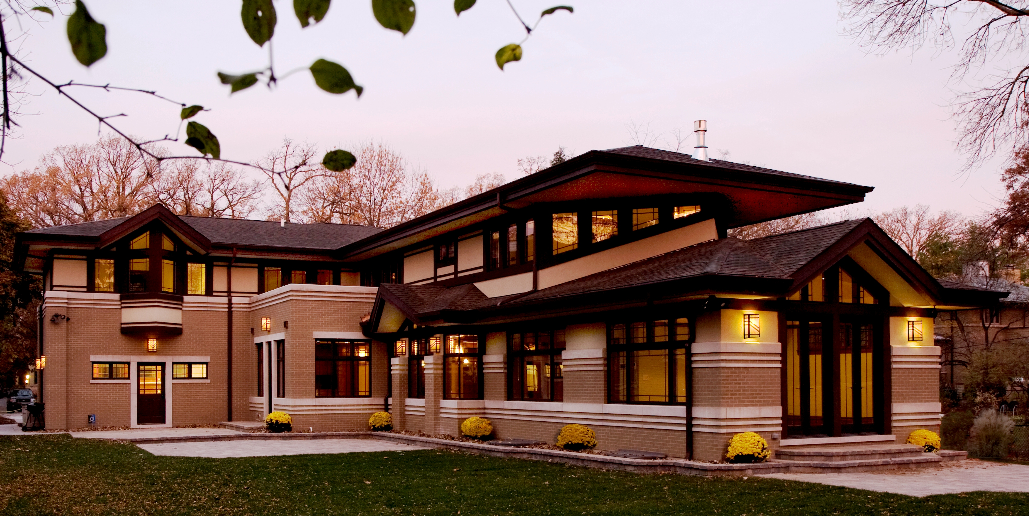 Frank Lloyd Wright Prairie Houses Home Design