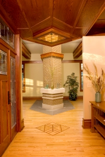 """Frank Lloyd Wright"" ""Prairie Style"" West Studio Architects & Construction Services"""