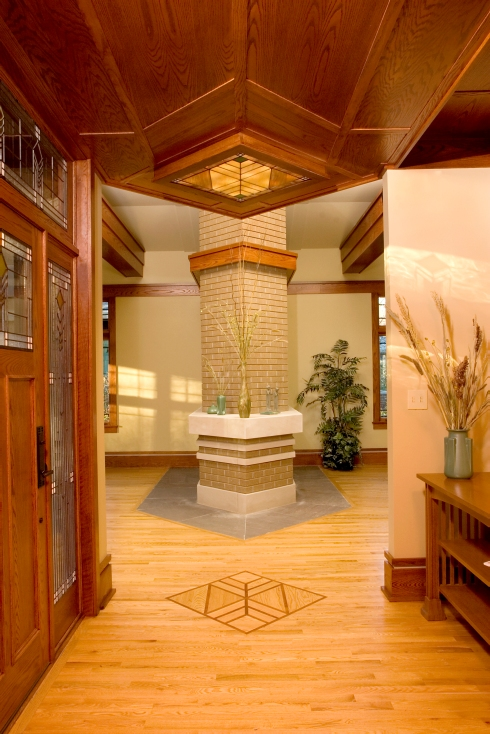 """""""Frank Lloyd Wright"""" """"Prairie Style"""" West Studio Architects & Construction Services"""""""