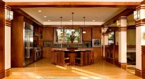 West Studio, Prairie Style Kitchen, Prairie Style Home, frank Lloyd Wright