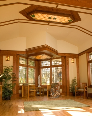 Prairie Style, west studio, frank Lloyd Wright Inspired