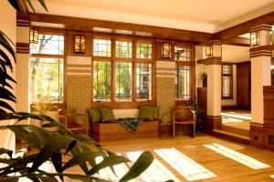 Prairie Style, West Studio, Frank Lloyd wright Inpsired