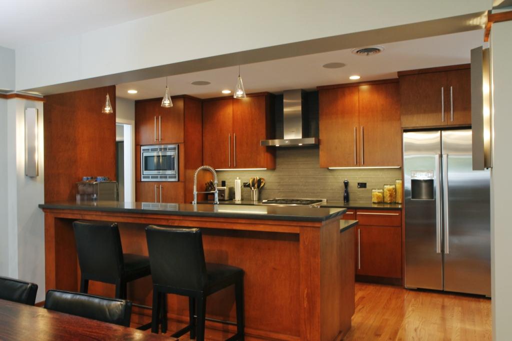 335 cottage hill kitchen prairiearchitect for Prairie style kitchen