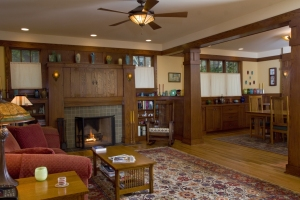 Craftsman Bungalow fireplace