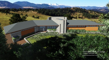 West Studio Architecrts, Organic Design, Frank Lloyd Wright Inspired