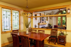 Prairie Style Dining Room, West Studio