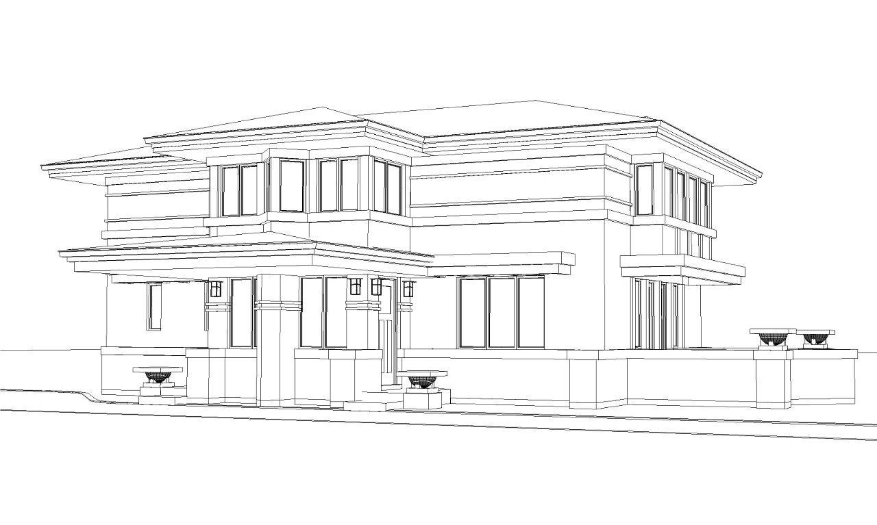 New Prairie Style Home For Sale in Elmhurst, IL | PrairieArchitect