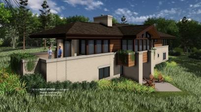 West Studio Architects, Prairie Style