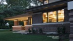 Frank Lloyd Wright Inspired, Modern Prairie House, Stephen Jaskowiak