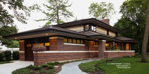 Frank Lloyd Wright Inspired, West Studio