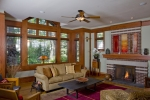 Prairie Style Family Room