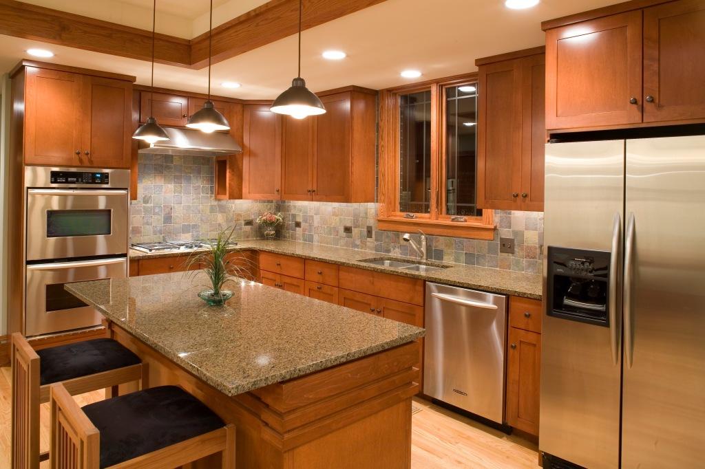 Prairie Style Kitchen, West Studio