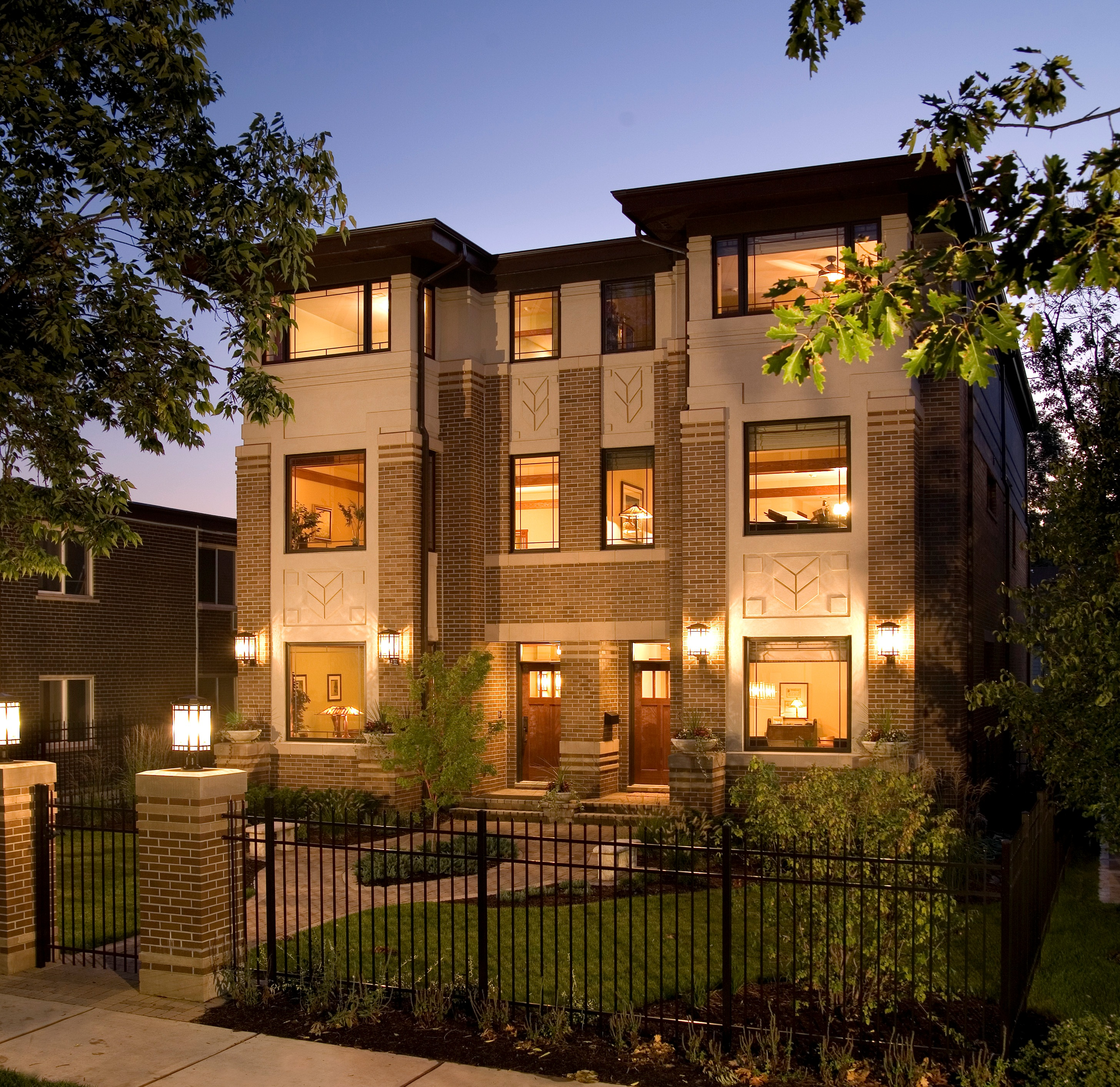 Prairiearchitect for Townhouse architectural styles