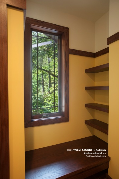 Modern Prairie Style, Window Seat, West Studio Architects