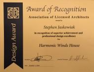 West Studio Architects, Design Award, Stephen Jaskowiak