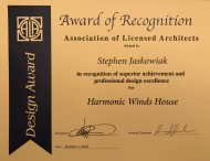 West Studio Architects, Design Award, Stephen Jaskowiak
