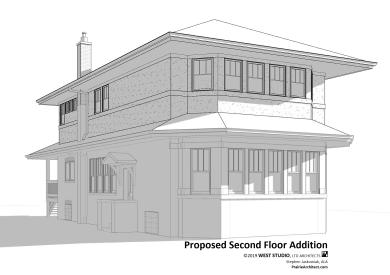 Chicago Bungalow Addition, West Studio Architects