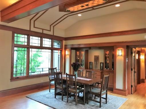 West Studio Architects, Modern Prairie Style Dining Room